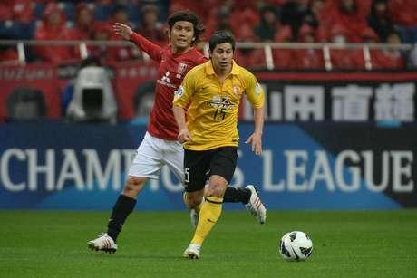 Conca em ação pelo Guangzhou Evergrande