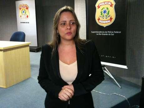 Delegada da Polícia Federal responsável pela operação contra pedofilia no RS, Diana Calazans Mann