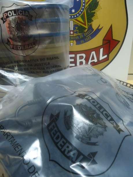 Materiais apreendidos durante Operação Protege da Polícia Federal no RS