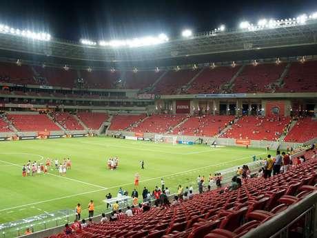 <p>Teste da Arena Pernambuco foi aprovado</p>