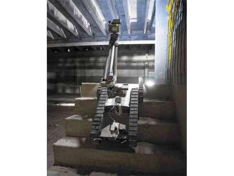 510 PackBot consegue subir escadas e rampas em ângulos de até 60 graus