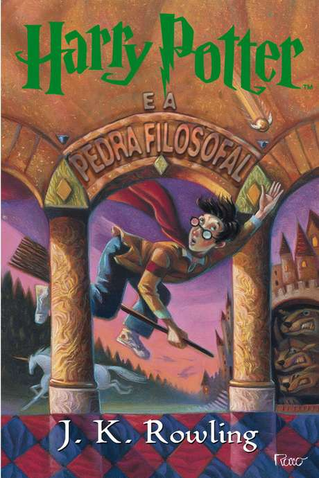 Harry Potter e A Pedra Filosofal é o primeiro livro da série