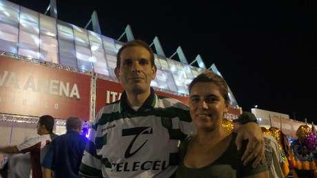 <p>Alexandre Rocha simpatiza tanto com o Náutico quanto com o Sporting</p>