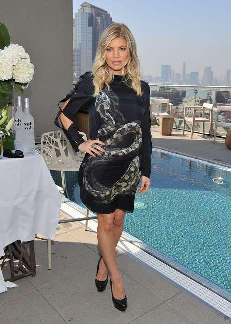 <p>Fergie será mãe de um menino</p>
