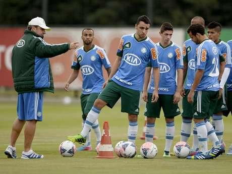 <p>Kleina deve reduzir elenco do Palmeiras para o segundo semestre</p>