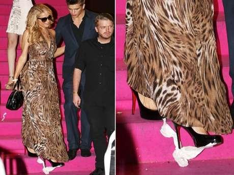 Paris Hilton curtiu uma balada em Cannes