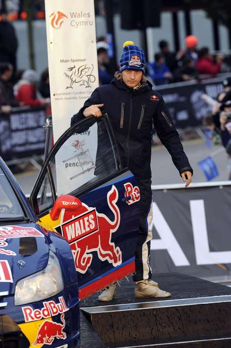 Raikkonen foi patrocinado pela Red Bull quando competiu no Mundial de Rali