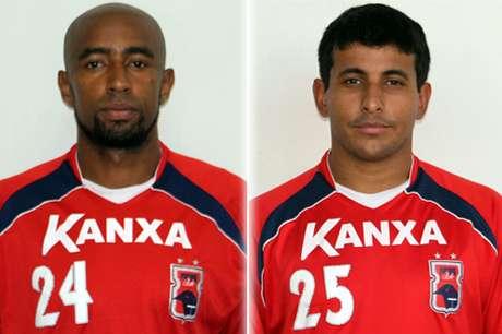 Paulinho (à esquerda), Paulinho Oliveira (à direita) e Paulo Sérgio já foram oficializados