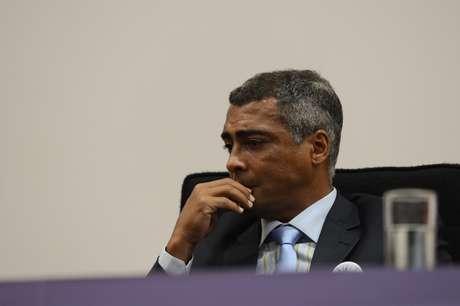 <p>Romário ressaltou que tem relação boa com Ronaldo, mas que não gostou das declarações</p>