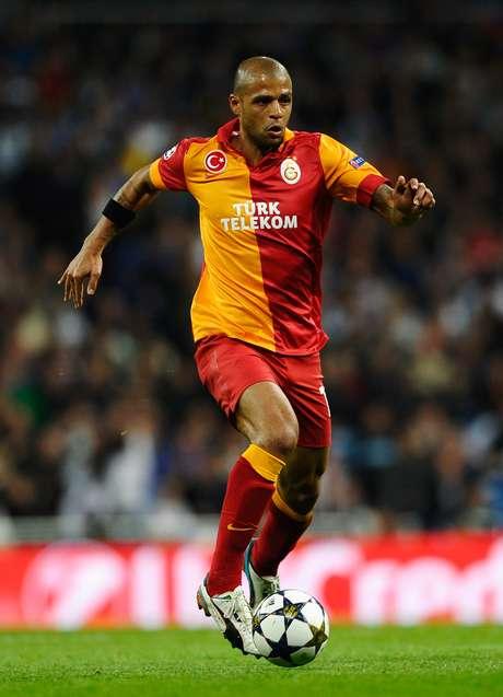 <p>Felipe Melo atualmente defende o Galatasaray, da Turquia</p>
