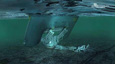 Usina aproveita as ondas do mar para a produção de energia