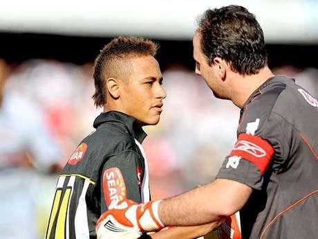 <p>Neymar se envolveu em polêmicas em 2010</p>