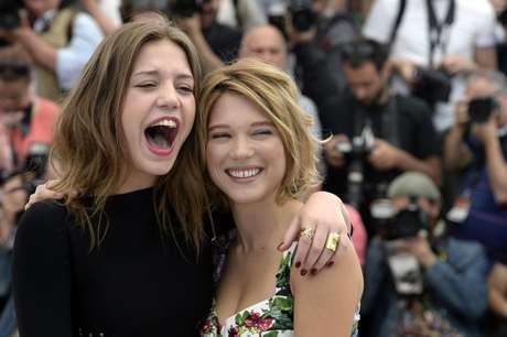 """<p>Adele Exarchopoulos (izq) y Lea Seydoux son las protagonistas de """"La vida de Adela""""</p>"""