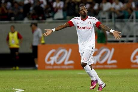 <p>Fred tem ganhado visibilidade com boas atuações com a camisa do Inter</p>