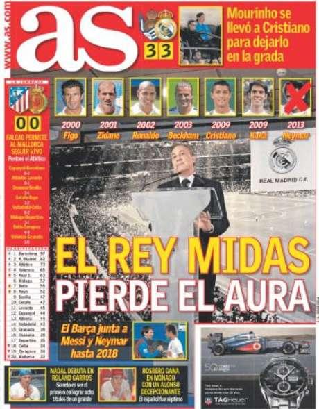 Madrileno As ironizou Florentino Pérez por não ter conseguido contratar Neymar