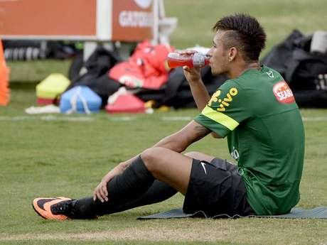 <p>Neymar deve fazer estreia oficial pelo Barcelona na Supercopa da Espanha, contra o Atlético de Madrid</p>