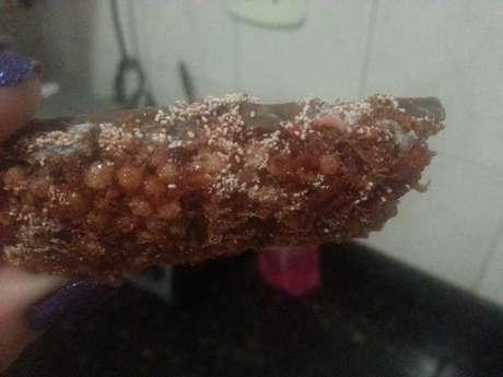 <p>Larva foi encontrada por consumidora em barra de cereal da marca Trio na última segunda-feira, 27</p>