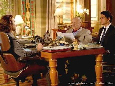 <p>Alberto aceita vender mina a Duque e nem imagina o golpe que vai levar</p>