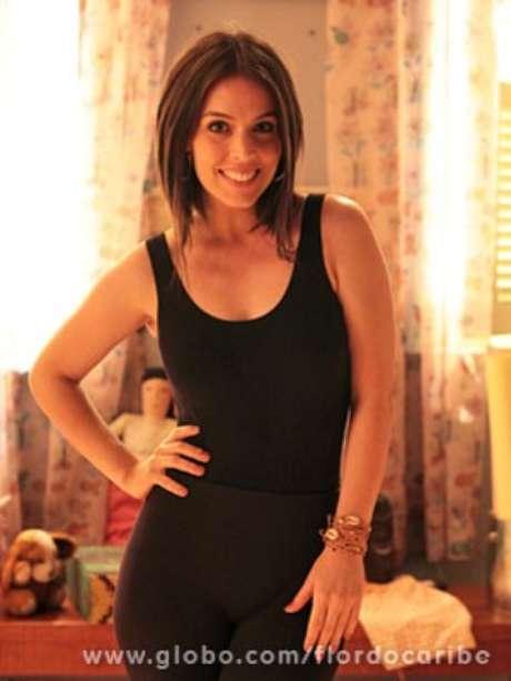 Karen Brusttolin vive Nina em 'Flor do Caribe'
