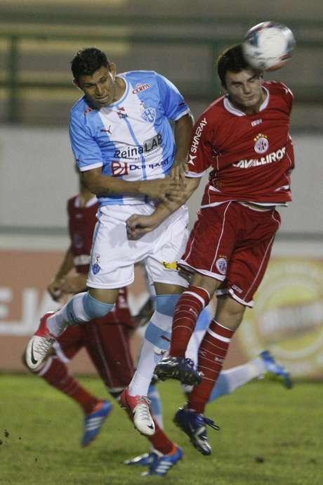 <p>Paysandu ficou no empate com o Am&eacute;rica-RN</p>