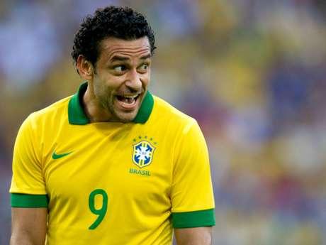 <p>Fred já tem quatro gols na Seleção desde Felipão assumiu o comando técnico</p>