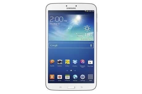 <p>Tablet de 8 polegadas utiliza a versão mais atualizada do Android</p>