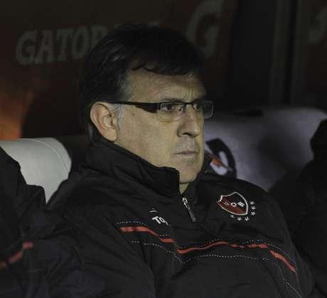 <p>Gerardo Martino est&aacute; pr&oacute;ximo de ser anunciado no Barcelona</p>