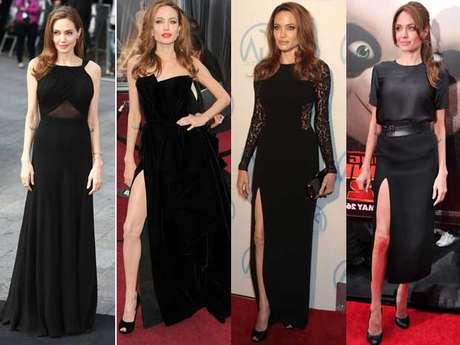 <p>Angelina Jolie siempre ha sido considerada una de las mujeres más elegantes del planeta. Tras su mastectomía, sus looks se han modificcado ligeramente pero siguen siendo igualmente sofisticados y atractivos.</p>