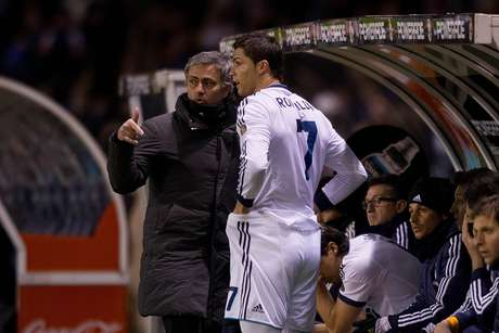 <p>Mourinho admitiu atrito com C. Ronaldo na época de Real Madrid</p>