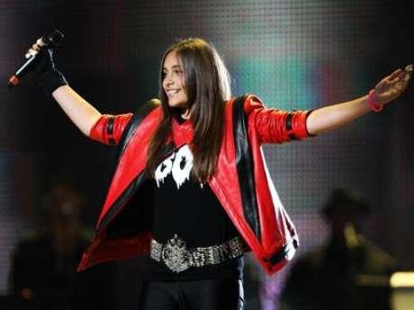 Filha de Michael Jackson, no ano passado; depressão teria ficado mais intensa após morte do pai