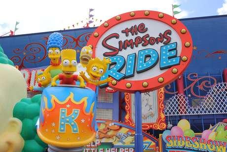 <p>Além da atração The Simpsons Ride, o parque da Universal Studios, em Orlando, nos Estados Unidos, agora possui um setor inteiro dedicado a Springfield</p>