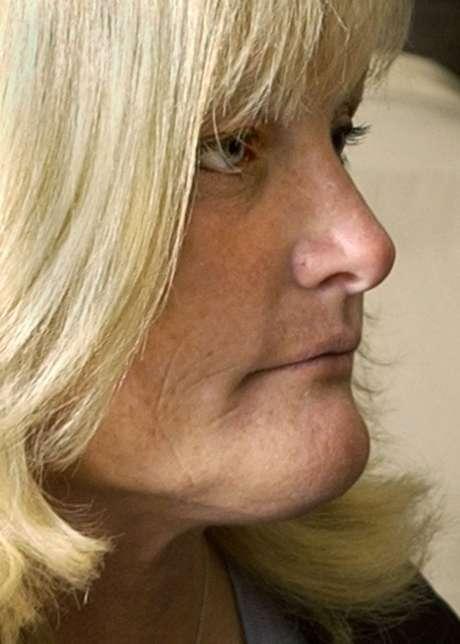 A ex-mulher de M. Jackson, Debbie Rowe