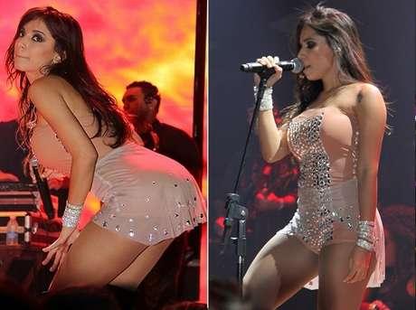Anitta se apresentou no Villa Mix, em São Paulo
