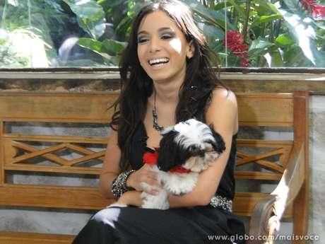 <p>Anitta esteve com Ana Maria nesta manhã</p>