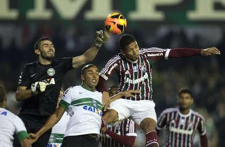 <p>Fluminense jogou bem contra o Coritiba, mas acabou derrotado</p>