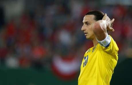 <p>Ibrahimovic é mais efetivo pela Suécia do que C. Ronaldo por Portugal</p>