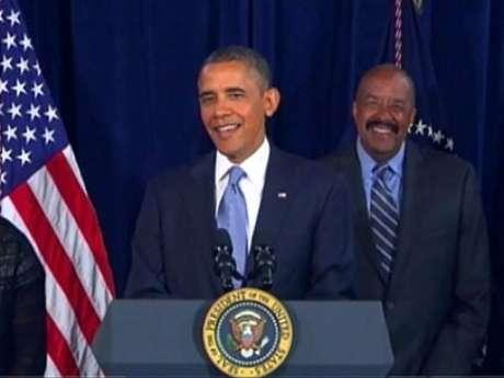 <p>Anúncio foi feito em um vídeo publicado no site da Casa Branca</p>