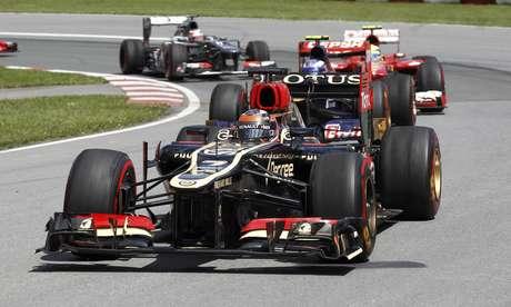<p>Lotus, de Raikkonen, tenta voltar ao pódio da Fórmula 1</p>