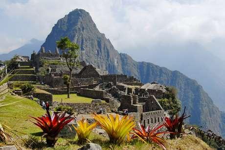<p>As ruínas incas de Machu Picchu ficam a 2.400 metros de altitude</p>