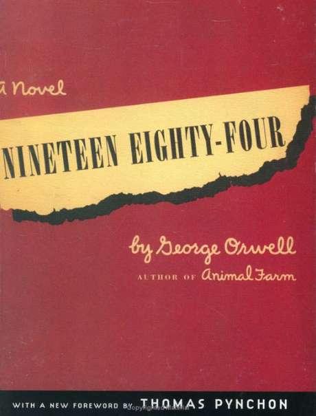 Capa do livro 1984 disponível na Amazon