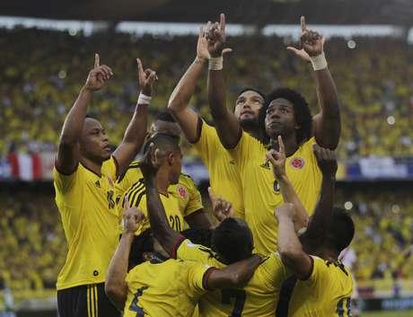 Colômbia venceu Peru pelas Eliminatórias