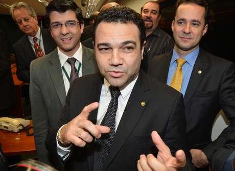<p>O deputado pastor Marco Feliciano é o presidente da Comissão de Direitos Humanos, onde foi aprovadoo projeto da 'cura gay'</p>