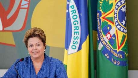 A presidente Dilma participa do Fórum Brasileiro de Mudanças Climáticas, em 5 de junho
