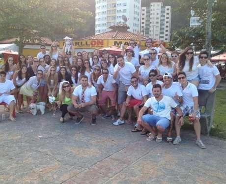 <p>Mais de 50 amigos ajudaram Paulo na iniciativa</p>
