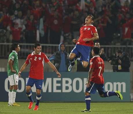 <p>Chile venceu Bol&iacute;via e ficou em terceiro</p>