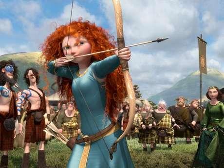 <p>Merida se destaca de outras princesas mais tradicionais pela cabeleira rebelde e a personalidade desbravadora</p>