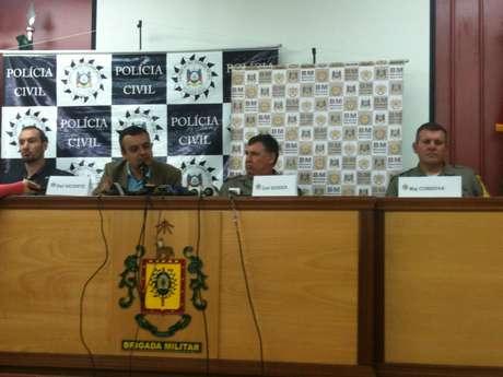 Autoridades falam sobre ação durante manifestação em Porto Alegre