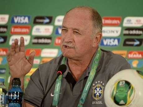 <p>Felipão comentou sobre partida de estreia contra o Japão</p>