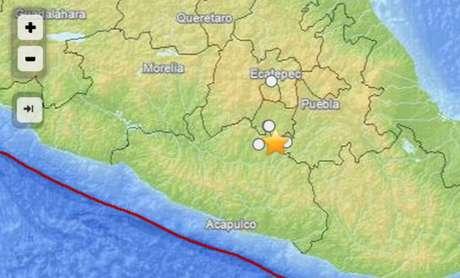 De acuerdo con el Servicio Geológico de los Estados Unidos (United States Geological Survey, USGS), el temblor tuvo una magnitud de 5.8 grados.