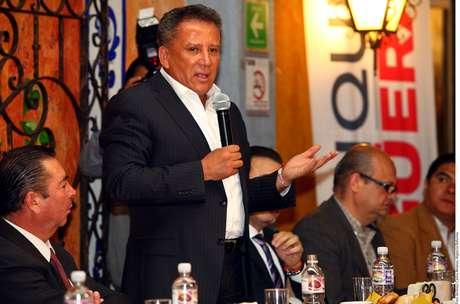 El candidato del PRI a la alcaldía de Puebla, Enrique Agüera